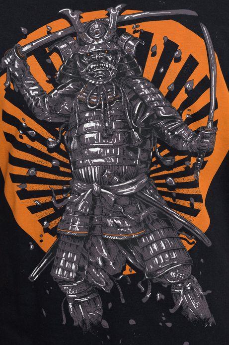 T-shirt Samurai czarny