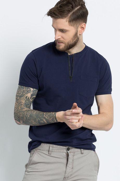 T-shirt Modern Staples granatowy