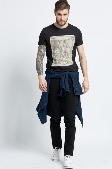 T-shirt Modern Staples szary