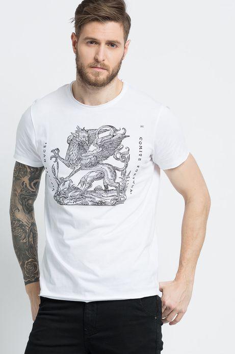 T-shirt Modern Staples biały