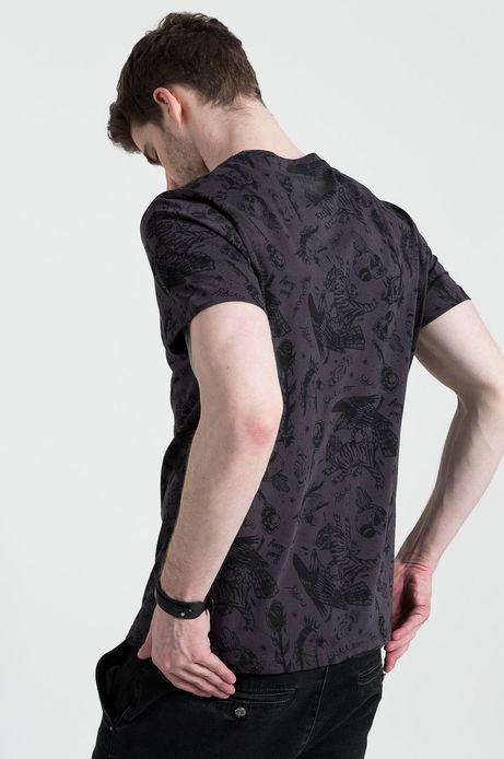 T-shirt Tattoo Konwent by Horny Pony szary
