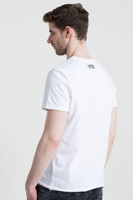 Man's T-shirt Tattoo Konwent by Mariusz R. biały