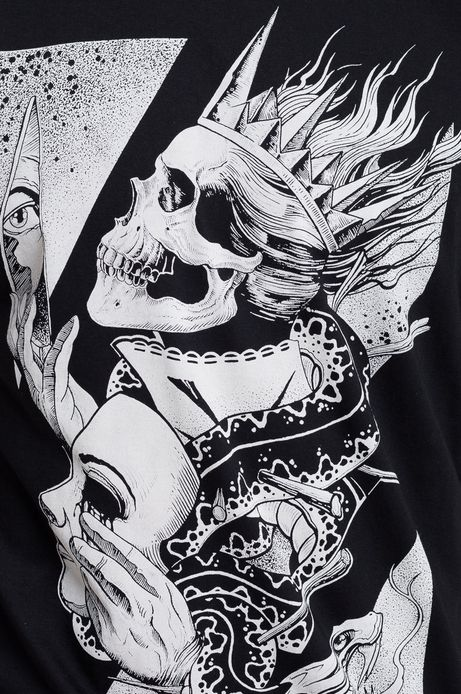 T-shirt Tattoo Konwent by Mariusz R. czarny