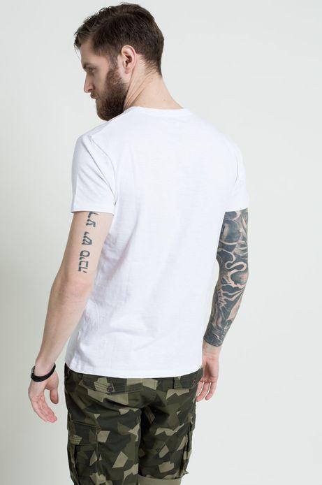 T-shirt The Botanist biały