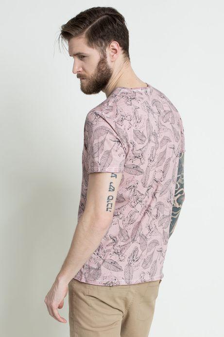 T-shirt The Botanist różowy