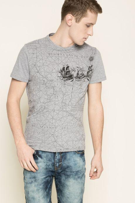 T-shirt The Botanist szary