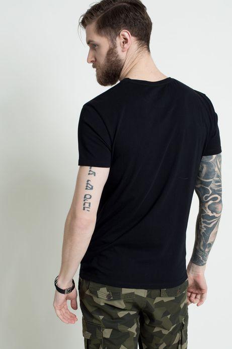 T-shirt The Botanist czarny