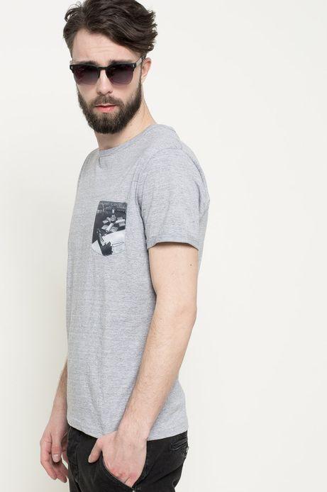 T-shirt Space Odyssey szary