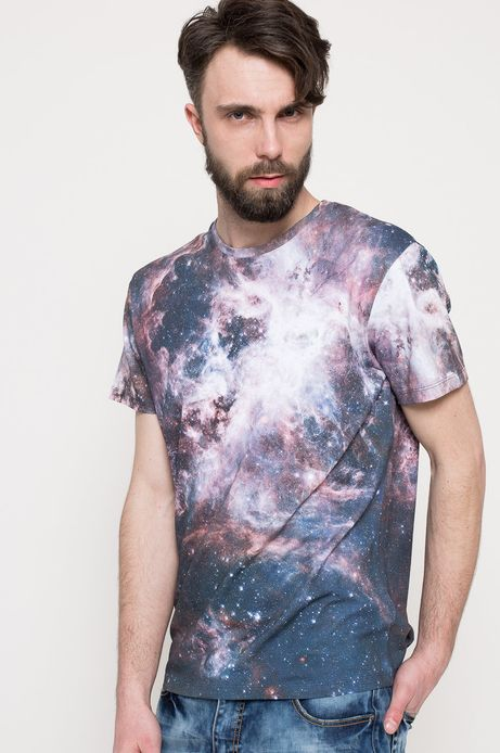 T-shirt Space Odyssey multicolor