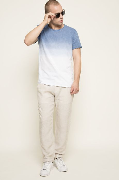 T-shirt Blue Lagoon niebieski