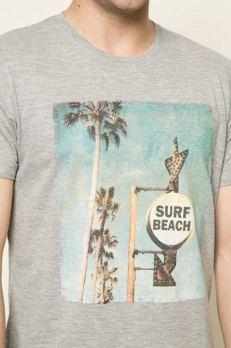 T-shirt Blue Lagoon szary