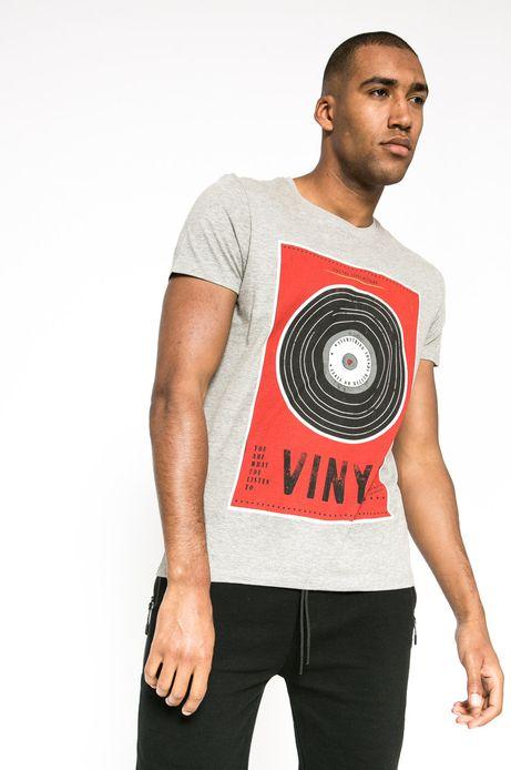 T-shirt Creative Soul szary