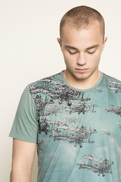T-shirt Rafał Wechterowicz for Medicine niebieski