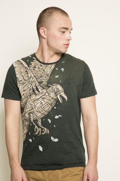 T-shirt Rafał Wechterowicz for Medicine zielony