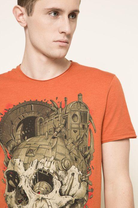 T-shirt Rafał Wechterowicz for Medicine pomarańczowy