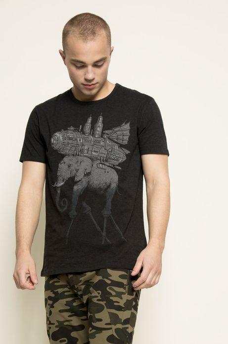 T-shirt Rafał Wechterowicz for Medicine szary