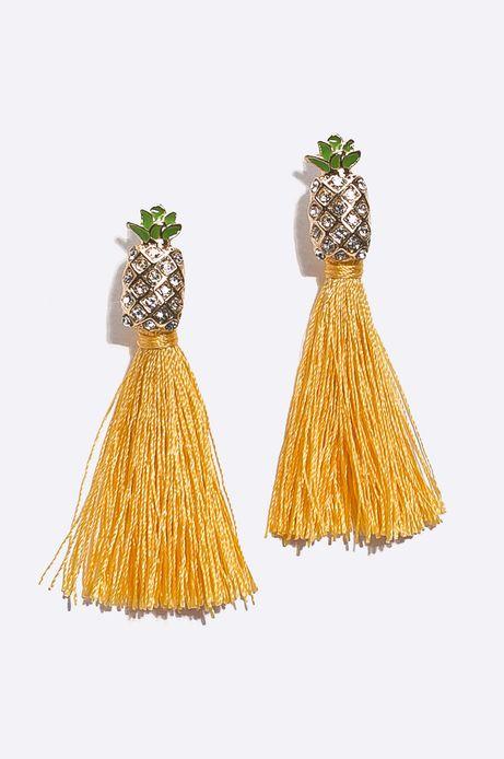 Kolczyki damskie ananasy