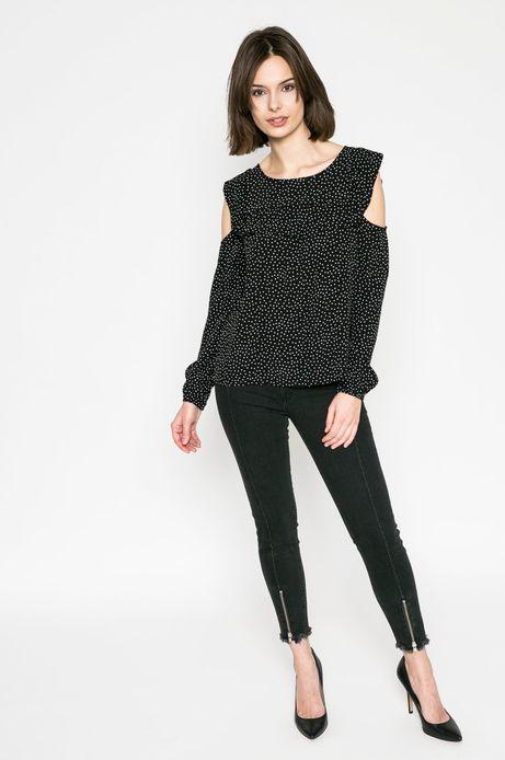 Bluzka damska Basic czarna