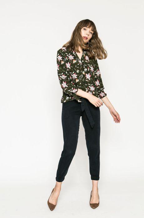 Bluzka damska Basic zielona
