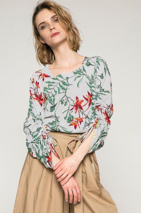 Woman's Bluzka damska Basic szara