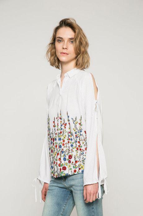 Woman's Koszula damska Basic multicolor