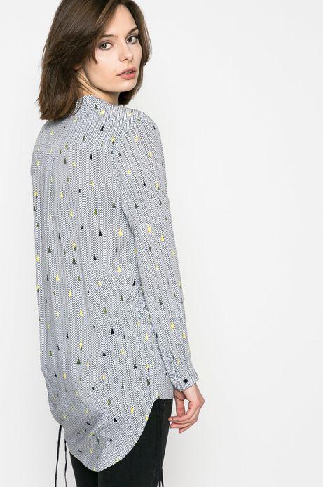 Woman's Koszula damska Comfort Zone szara