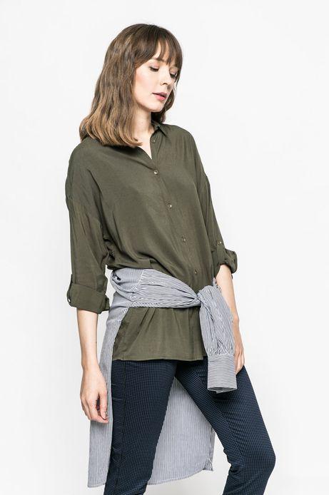 Koszula damska Girl Power / Blimsien zielona