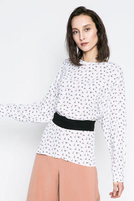 Woman's Koszula damska Yoga biała