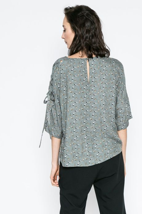 Woman's Bluzka Yoga zielona