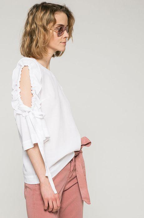 Woman's Bluzka damska Ergo Soldier biała