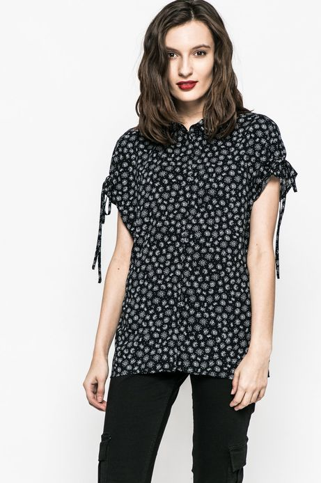 Koszula damska Basic granatowa