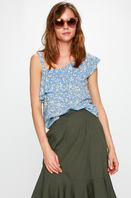Woman's Top Basic multicolor