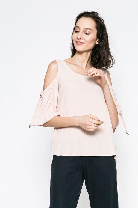 Woman's Bluzka Yoga różowa