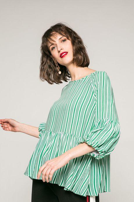 Woman's Bluzka Active Forecast zielona