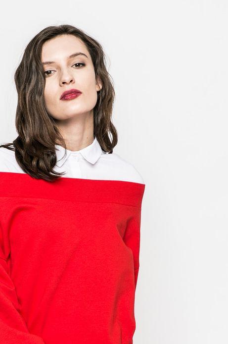 Bluza damska Basic czerwona