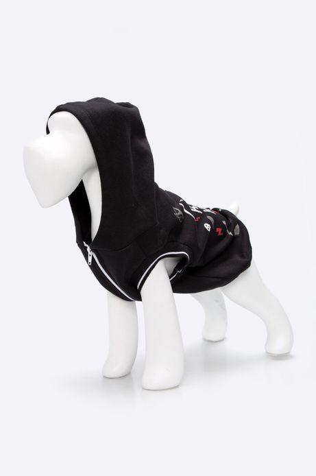 Woman's Bluza dla psa Comfort Zone czarna