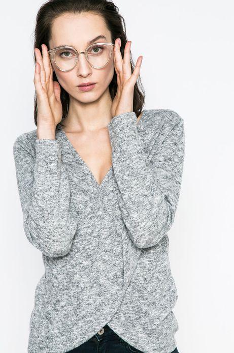 Woman's Bluza damska Yoga szara
