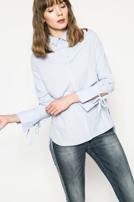 Koszula damska Basic niebieska