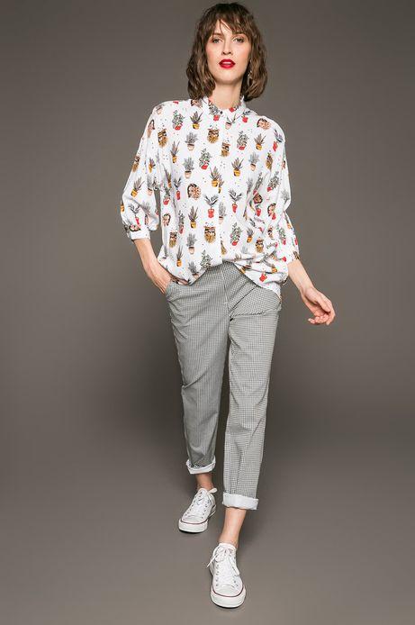 Woman's Koszula damska by Patryk Hilton, Tattoo Konwent biała