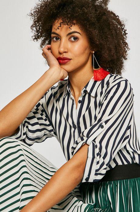 Woman's Koszula damska African Beauty granatowa