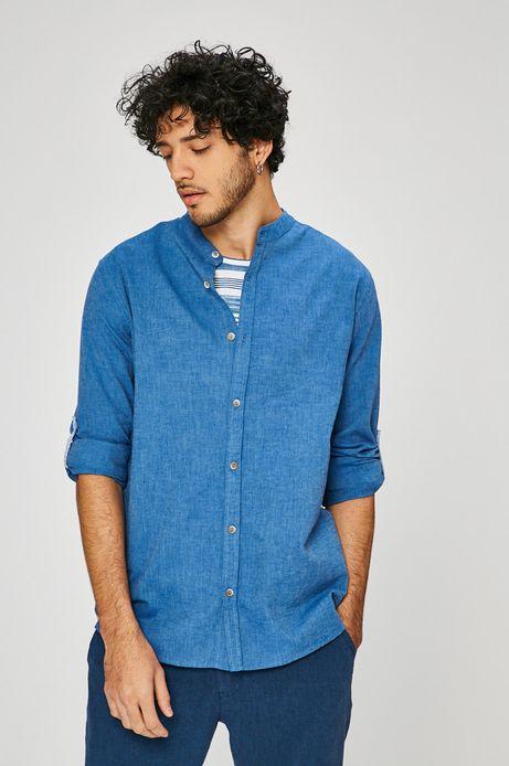 Man's Koszula męska On The Go niebieska
