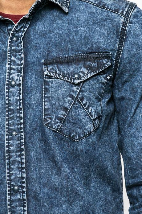 Koszula męska City Rhythmes niebieska