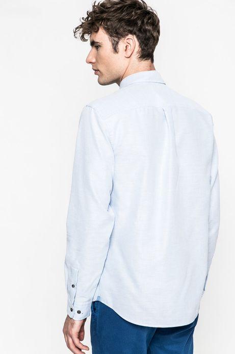 Koszula męska Slow Future niebieska
