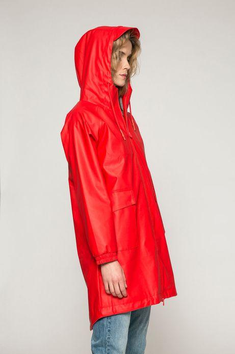 Woman's Przeciwdeszczowa kurtka damska czerwona