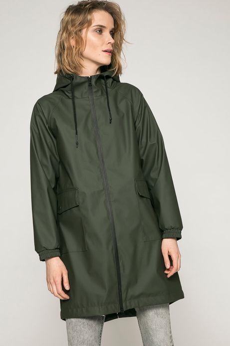 Woman's Przeciwdeszczowa kurtka damska zielona