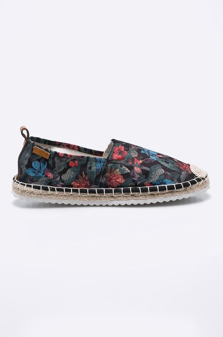 Espadryle damskie Cute and Bleak czarne