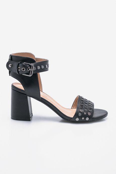 Woman's Sandały damskie Cute and Bleak czarne