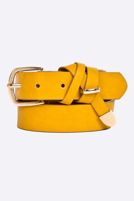 Woman's Pasek damski Seafarer żółty