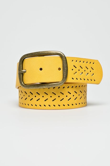 Pasek damski Arizona Dream żółty