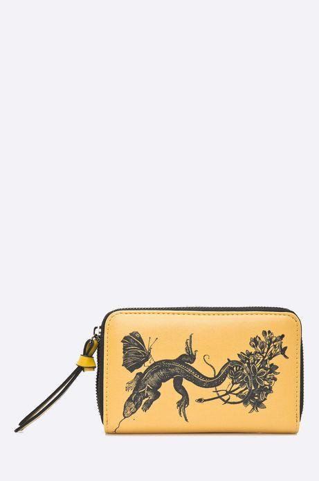 Woman's Portfel damski Ergo Soldier żółty